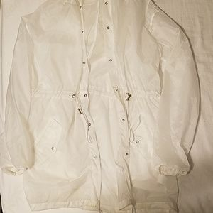 Sheer white jacket